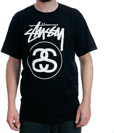 Camiseta Stussy – Stock Link Tee negro talla: M (Medium): Amazon.es: Ropa y accesorios