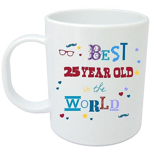 25th Birthday Gift Mug Brilliant Present Idea For Any 25 Year Old