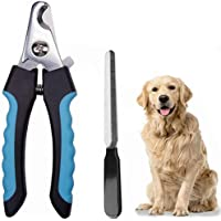 STAYOUNG Cortauñas para Mascotas, Corta Uñas para Perro Profesional con Lima de Uñas, con Asas Antideslizantes…