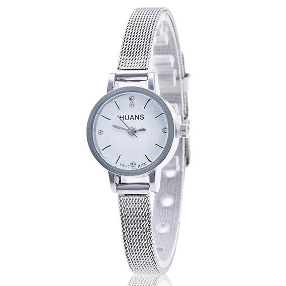 Sunn ywill Mujeres Chica Mujer Bonito diseño de moda analógico de cuarzo reloj de pulsera Relojes para femenina: Amazon.es: Relojes