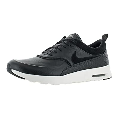 Amazon.com | NIKE Womens Air Max Thea LX Lightweight Leather Sneakers Black  10.5 Medium (B, M) | Fashion Sneakers