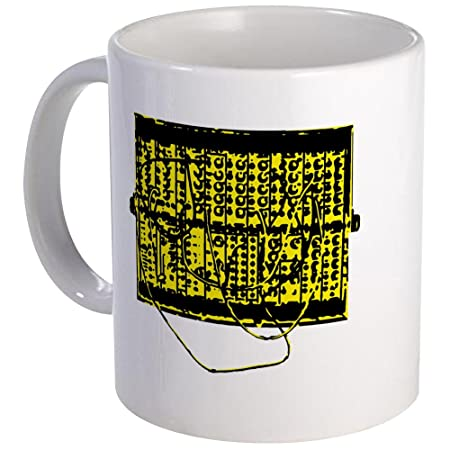 e92a57f6cdb CafePress - Modular Synth Yellow/Black Mug - Unique Coffee Mug, Coffee Cup,  Tea Cup: Amazon.co.uk: Kitchen & Home