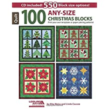 100 Any-Size Christmas Blocks