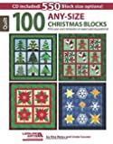 100 Any-Size Christmas Blocks: Print Your Own Templates or Paper-Piecing Patterns!