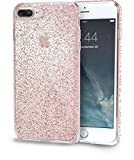 Silk iPhone 7 Plus Clear Case - PureView for iPhone 7+ [Ultra Slim Fit Protective Clear Cover] - Rose Gold