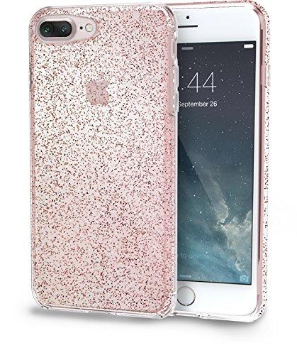 iphone 7 rose gold glitter case