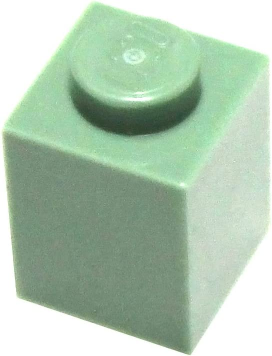 LEGO Parts and Pieces: Sand Green 1x1 Brick x100