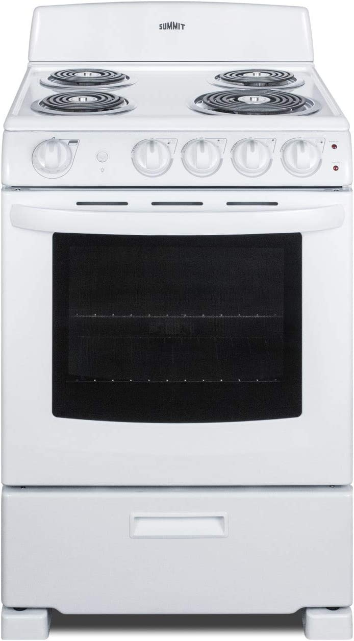 Summit RE2411W 24 Inch Wide 2.9 Cu. Ft. Free Standing Electric Range