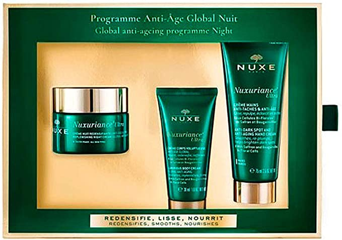 Nuxe 923-18329 Nuxuriance Ultra Crème Nuit Lote 3 Pz 200 g: Amazon ...