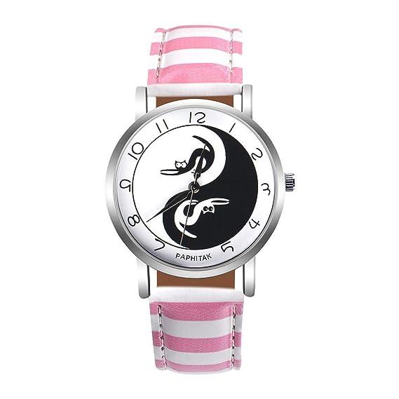 Las mujeres cuarzo relojes paphitak Cat Patrón Remoción hembra relojes de venta Lady relojes baratos watches