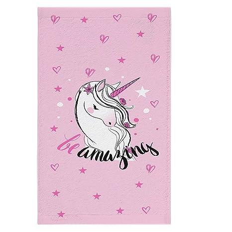 Shellbag Diamond Unicorn Collection Toalla con un Unicornio/una Hermosa Toalla Grande para una niña