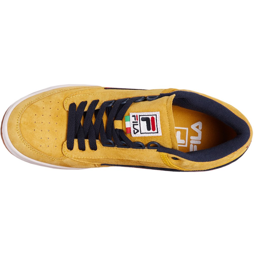 Amazon.com | Fila Men's T-1 Mid Sneakers | Fashion Sneakers