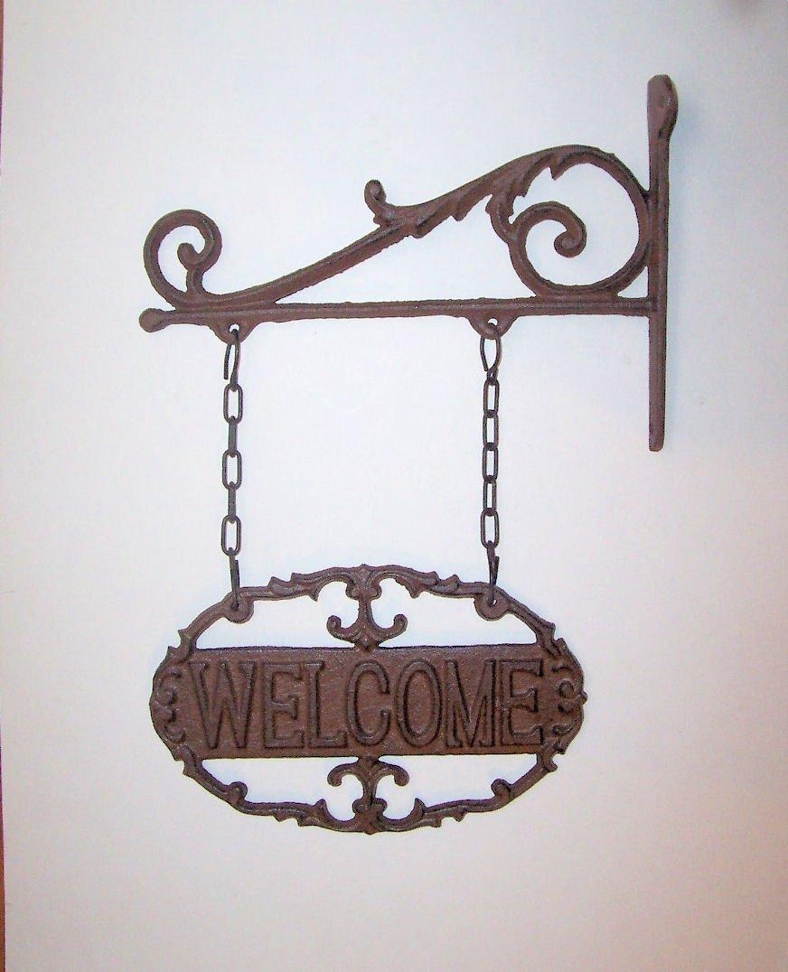 Wall Bracket and Welcome Sign ESSCHERT