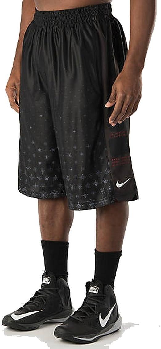 Nike Mens Dri-Fit Elite Hyper Lite Team Basketball Shorts Red//White New