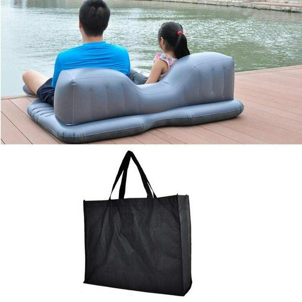 maxgoal 53'' Car Air Bed Inflatable Mattress Back Seat Cushion with Pillows for Travel MX G83584 by maxgoal (Image #3)