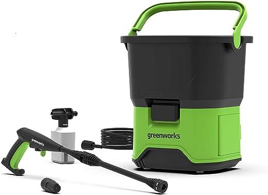 Greenworks Nettoyeur Haute Pression /à Batterie GDC40 Batterie G40B25 Chargeur de Batterie G40UC