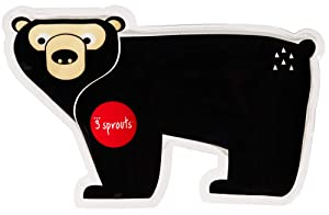 3 Sprouts Ice Pack – Small Reusable Lunch Bag Cooler Ice Pack Kids Accessories, Bear