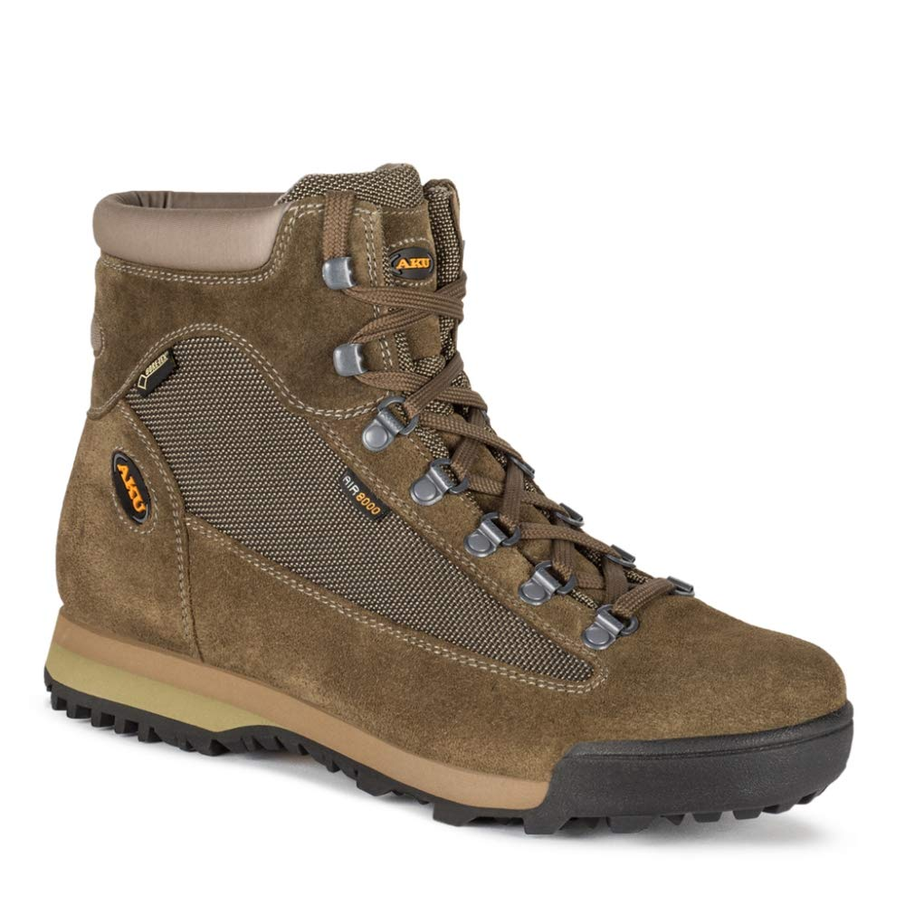AKU M Slope GTX - Olive - EU 44 / UK 9.5 / US 10 - Wasserdichter vielseitiger Herren Gore-Tex® Bergsport Schuh