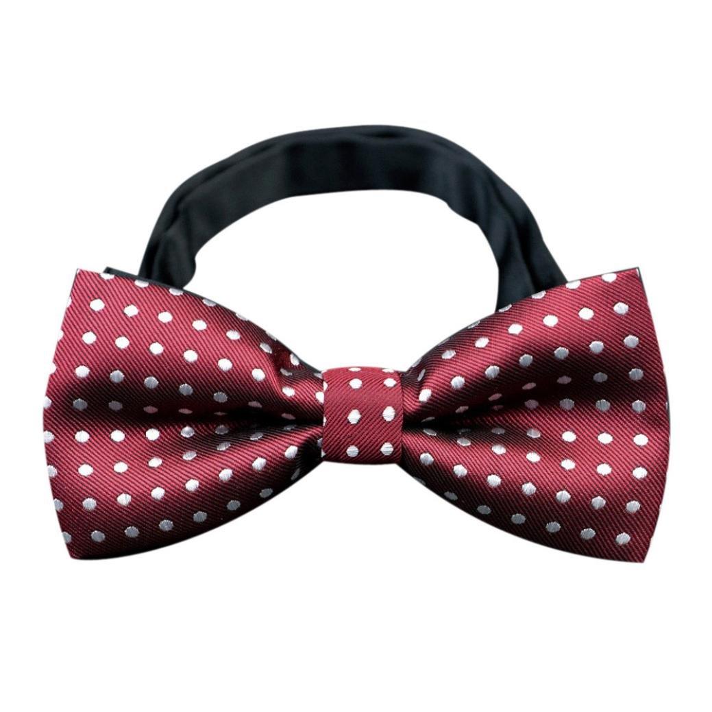 Baomabao Ties,Men's Butterfly Cravat bowtie Wedding commercial bow ties