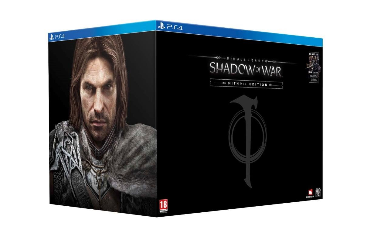 Middle Earth Shadow Of War Mithril Edition Exclusive To Amazon Co Uk Ps4 Video Games
