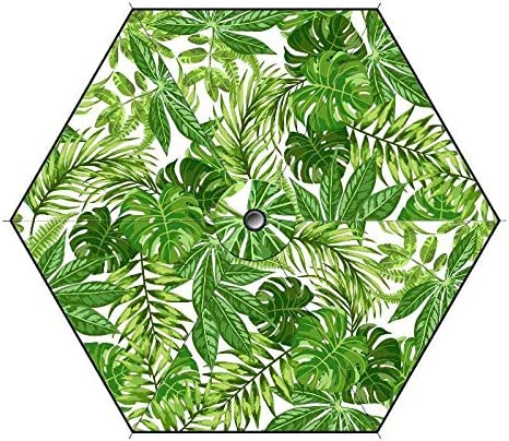 Multicolore Ombrellone Tropical 140 cm WDK Partner