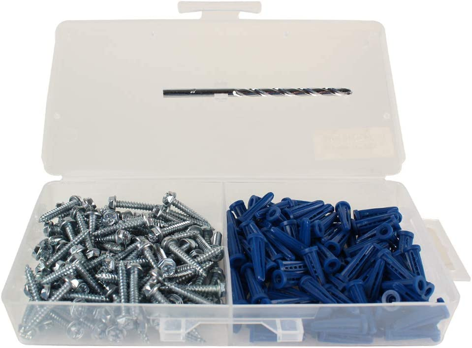 Skywalker Signature Series Anchor Kit with 1//4 Inch Drill Bit