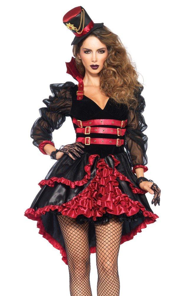 Damen-Kostüm Leg Avenue - Victorian Vamp - Vampir Halloween Dracula sexy neu, Größe:L