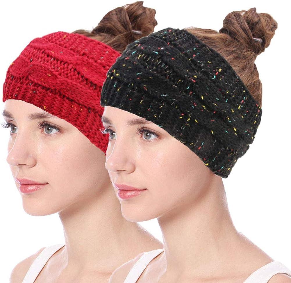 Winter Knitted Headband...