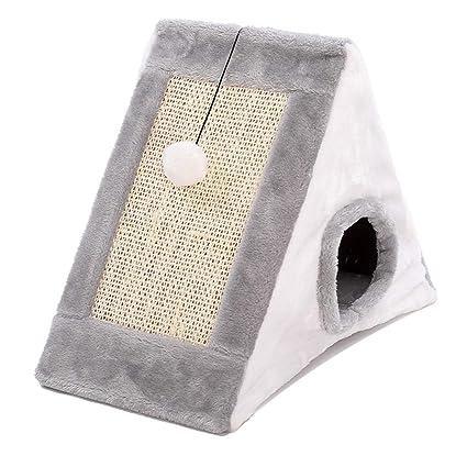Perreras Arena para gatos Cálida casa de invierno Casa de gato cerrada Tienda de campaña para ...