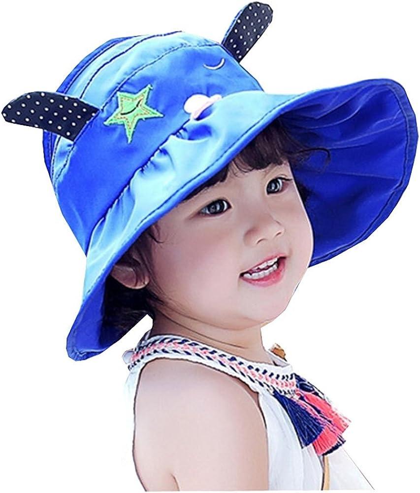 Lisianthus Girls Cartoon Floppy Sun Protection Hat