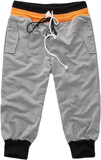 Moollyfox Hombre 3 4 Pantalones Cortos De Deporte Gimnasio Jogging Shorts Amazon Es Ropa Y Accesorios