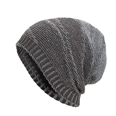 Celucke Beanie Herren Frauen Strickmützen Caps Hüte Warm Ausgebeult