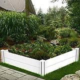 kdgarden 4'x4' Raised Garden Bed Kit Outdoor Above