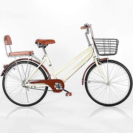 YOUGL Viajero Bicicleta Bicicleta Ciudad Coche Hombres y Mujeres ...