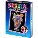 Sequin Art Icecream Sundae Picture