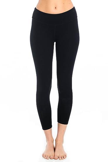 40065225bab8c2 Wren Legging-Black-Extra Small (XS) Womens Active Workout Yoga Leggings  Black