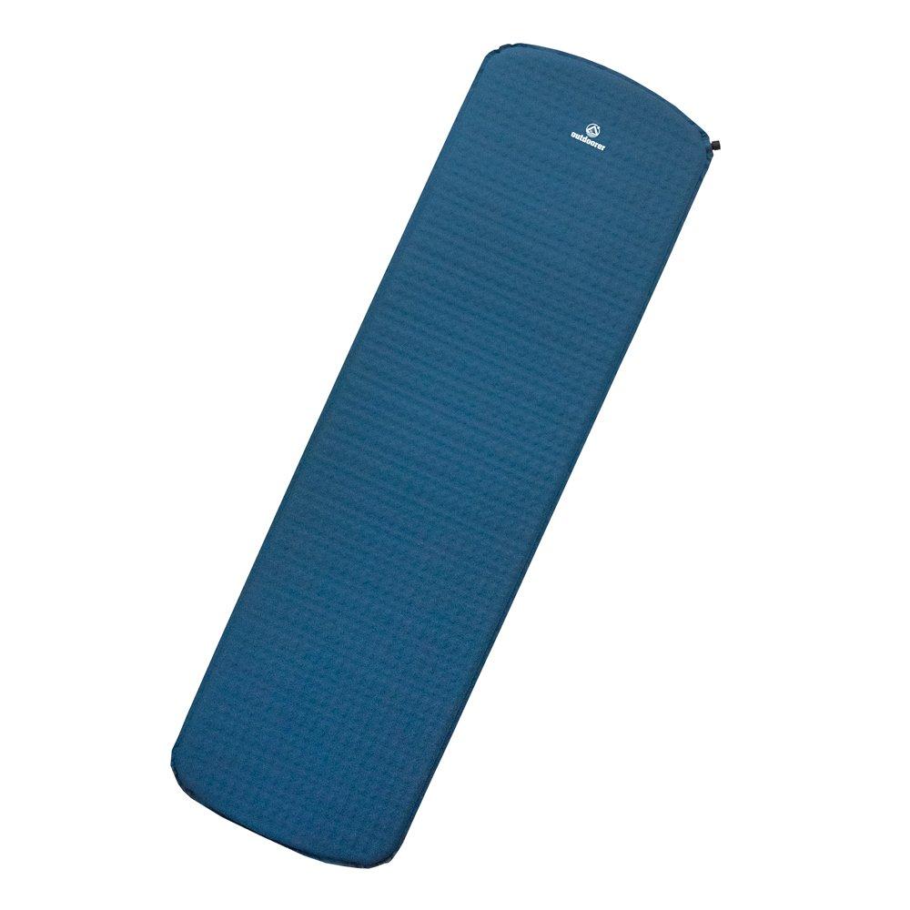 Outdoorer Trek Bed 1 - Aislante de suelo auto-hinchable para acampada (3,8 cm de espesor): Amazon.es: Deportes y aire libre