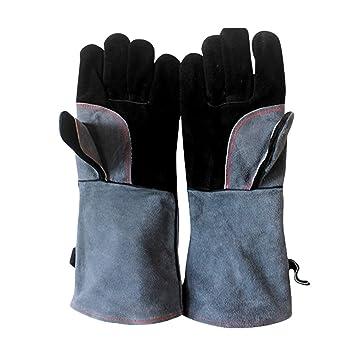 Vosarea Guantes de barbacoa guantes Guantes de cocina resistentes al calor Guantes de cocina para cocina