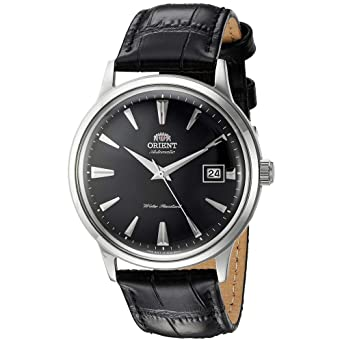 Orient Reloj Analógico para Hombre de Automático con Correa en Cuero FAC00004B0: Amazon.es: Relojes