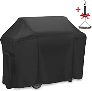 SHINESTAR 60 Inch Grill Cover for Weber Genesis II 310, Heavy Duty Waterproof BBQ Cover for 3-4 Burner Gas Grill - 60W x 28D x 44.5H