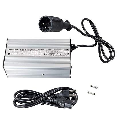 Amazon.com: iMeshbean 48 V 5 Amp Cargador de batería de ...