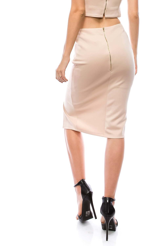 VIRGIN ONLY Womens Mini Skirt