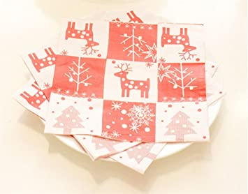Amazon Com Beilan Christmas Plastic Tablecloth Candy Cane Pattern