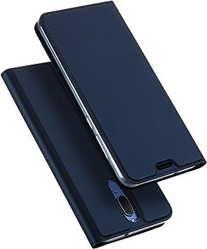 DUX DUCIS Funda Huawei Mate 10 Lite, Skin Pro Series Ultra Slim Layered Dandy, Pata De Cabra,Magnetico, TPU Parachoques, Protección De Cuerpo Completo para Huawei Mate 10 Lite (Azul Marino): Amazon.es: Electrónica