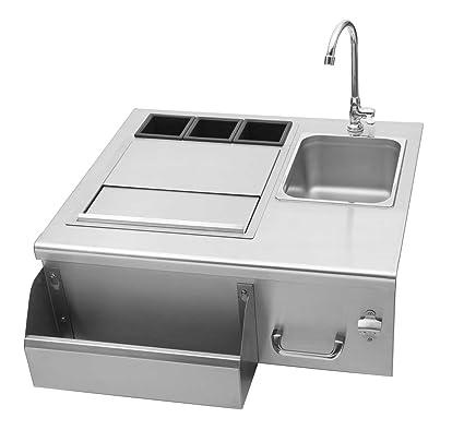 Amazon.com : Delsol Outdoor Bar Sink (DSOB30) : Garden & Outdoor