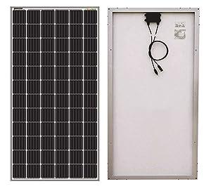 Sonali Solar 200 Watt (200W X 1Pcs) 24 Volt 72 Cell Monocrystalline (Mono) Solar Panel
