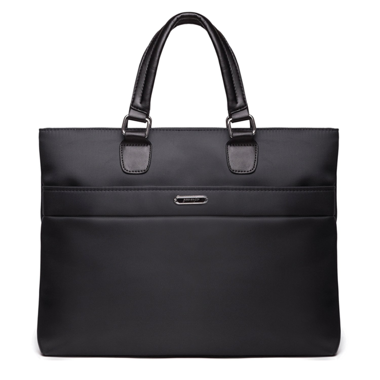 Slim Business Document Bags Case Portfolio Organizer Zippered Case for iPads, Notebooks, Pens, File