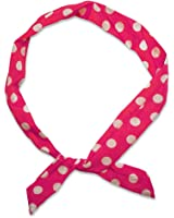 1 hair band, many styles! -Polkadots Rockabilly loop dots stripes red white navy pink