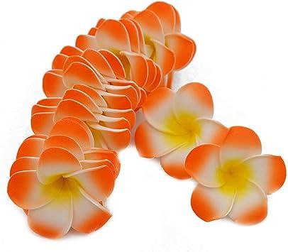 Hawaiian Plumeria Artificial Silk Plastic Fake Flowers Hanging Bunch Decor New