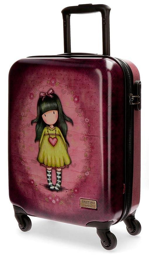 Gorjuss Heartfelt Equipaje Infantil, 55 cm, 33 litros, Rosa